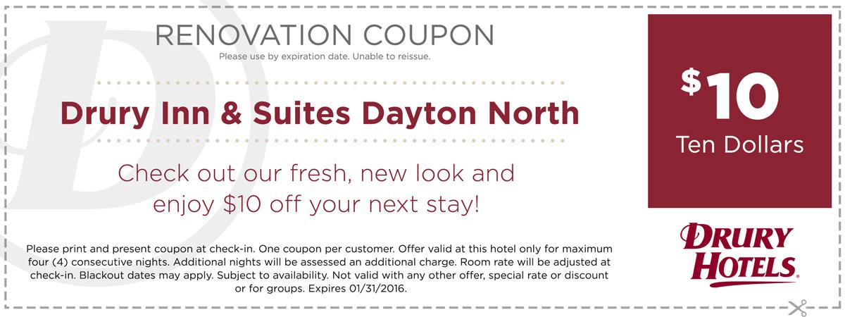 Dayton North Coupon