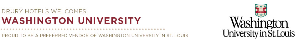 Washington University header