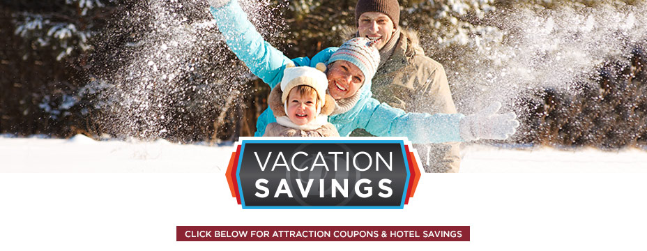Vacation Savings - Attraction coupons and hotel savings