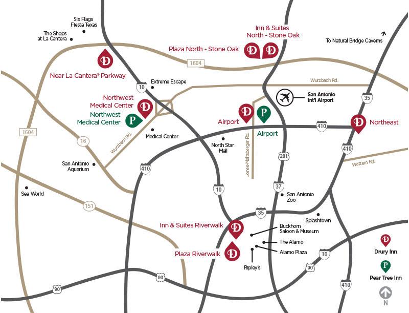 Drury Hotels of San Antonio
