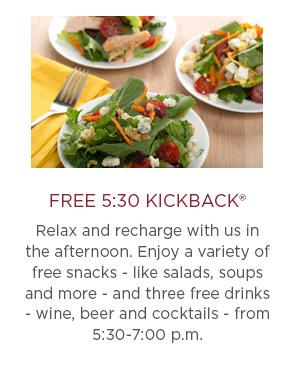 Free 5:30 Kickback