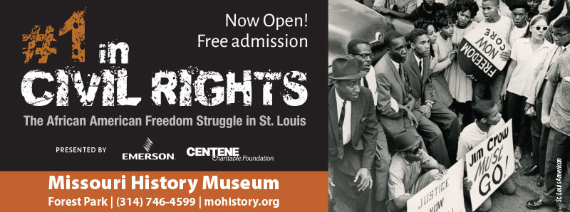 St. Louis Vacation Savings Coupon - Free admission at Missouri History Museum for #1 in Civil Rights exhibit