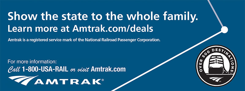 St. Louis Vacation Savings Coupon – Show the state to the whole family. Learn more about Amtrak.com/deals.