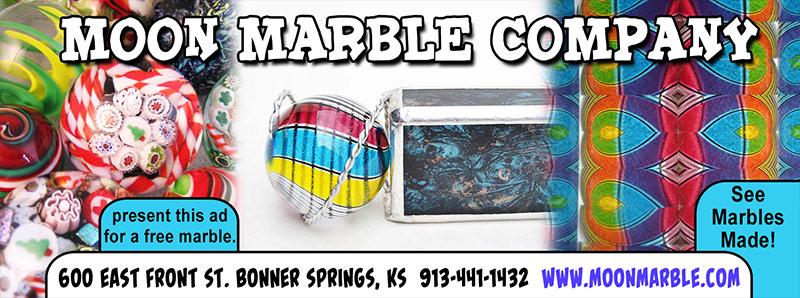 Kansas City Vacation Savings Coupon - Free marble at Moon Marble Company