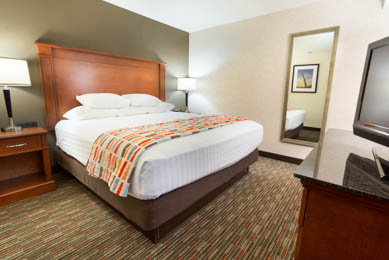 Drury Inn & Suites St. Louis Creve Coeur - King Suite