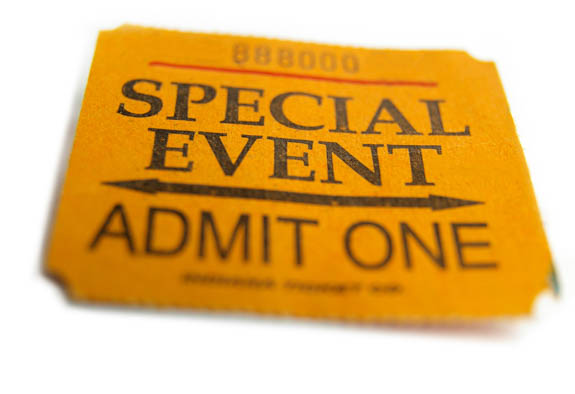 Special Event Admit One