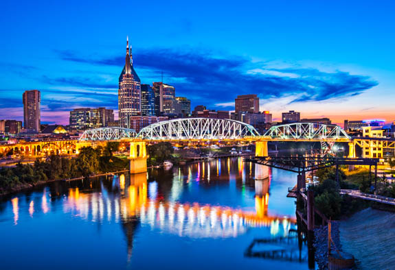 Rent A Car In Downtown Nashville