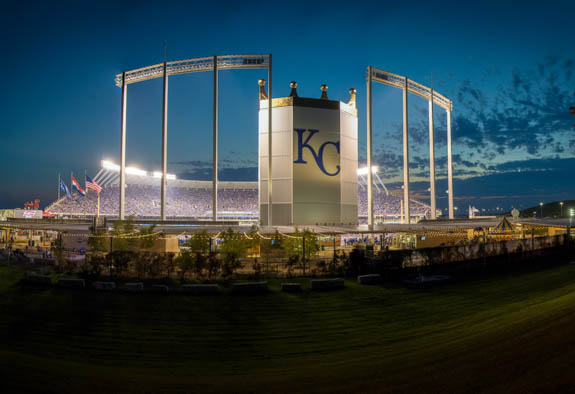 Kansas City Royals at Kauffman Stadium