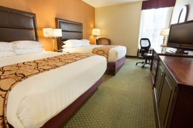 Drury Inn & Suites East Evansville - Deluxe Queen Room