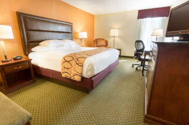 Drury Inn & Suites East Evansville - Deluxe King Room