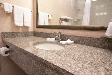 Drury Inn & Suites St. Louis near Forest Park - Guest Bathroom