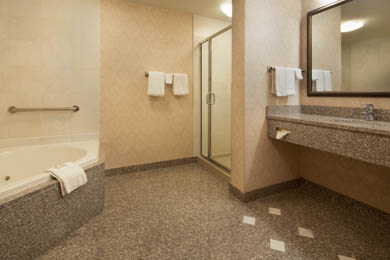 Drury Inn & Suites Meridian - Guest Bathroom