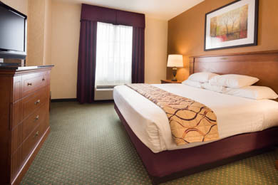 Drury Inn & Suites Findlay - King Suite