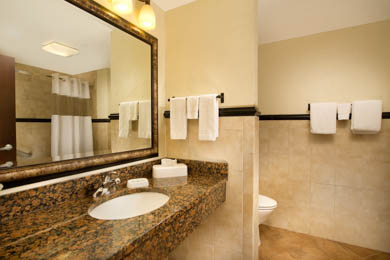 Drury Inn & Suites Near La Cantera Parkway San Antonio - Guest Bathroom