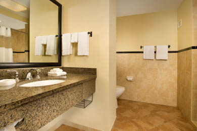 Drury Plaza Hotel North San Antonio - Guest Bathroom