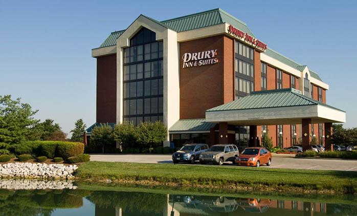 Drury Inn Suites East Evansville Hotel Exterior