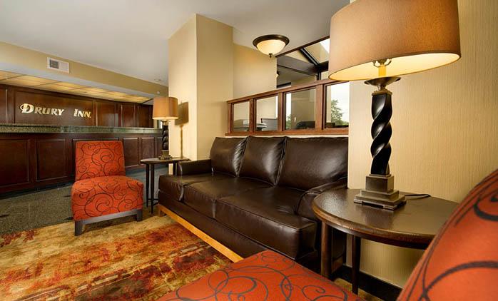 Drury Inn Shawnee Mission - Lobby