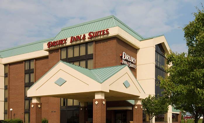 Drury Inn & Suites Champaign - Hotel Exterior