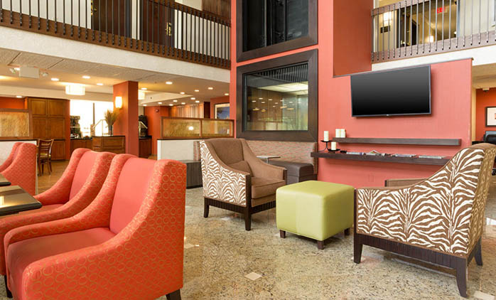 Drury Inn & Suites North Charlotte - Lobby