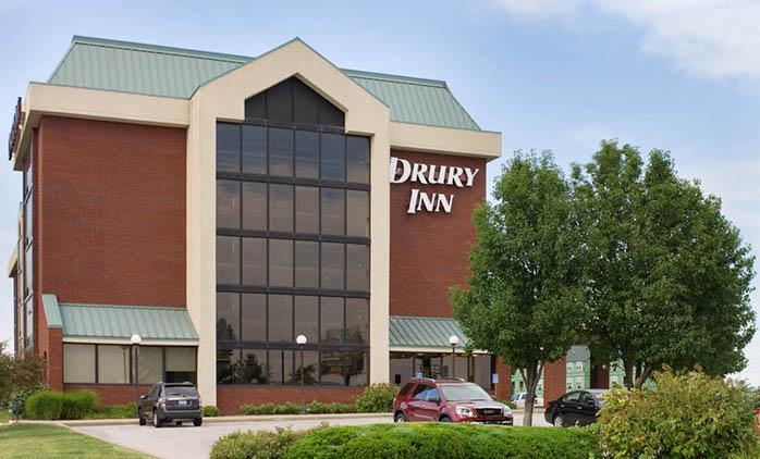 Drury Inn Marion Hotel Exterior
