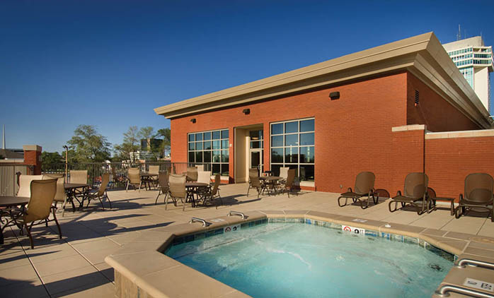 Drury Plaza Hotel Broadview Wichita Indoor Outdoor Pool
