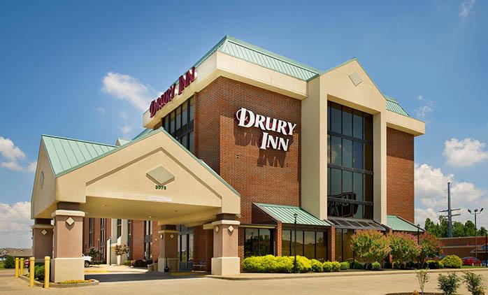 Drury Inn Paducah Lobby Hotel Exterior