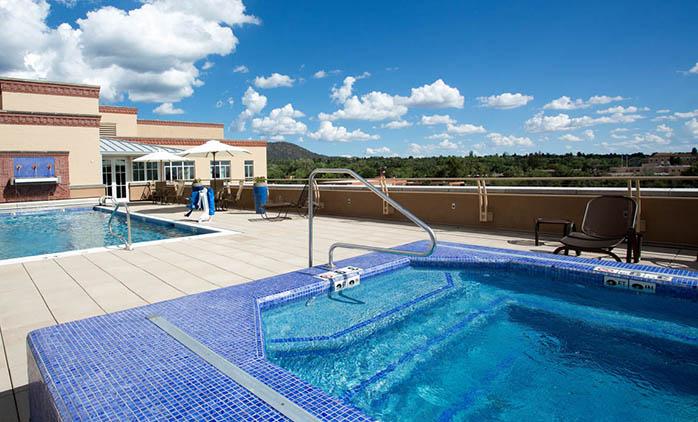 Drury Plaza Hotel in Santa Fe - Outdoor Pool