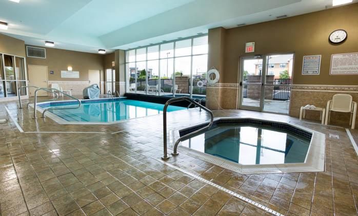 Drury Inn Suites North Dayton Indoor Outdoor Pool