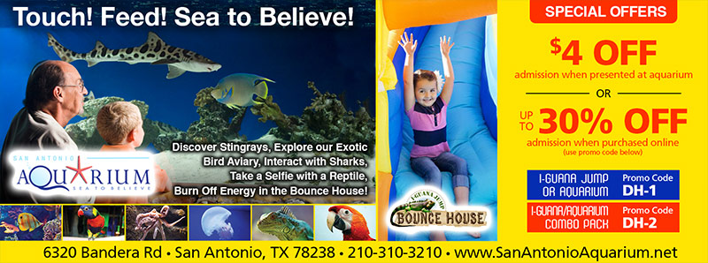 San antonio aquarium coupon code