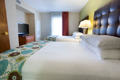 Drury Inn & Suites McAllen Two-room Suite Guestroom