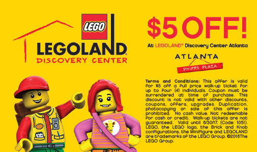 Legoland atlanta coupons