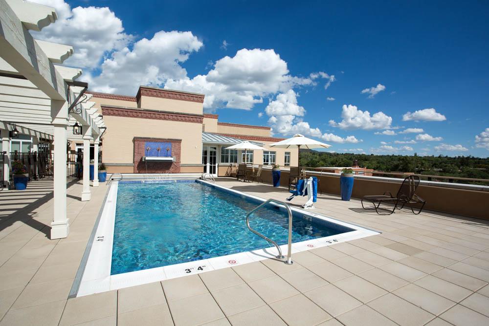 Drury Plaza Hotel in Santa Fe - Swimming Pool