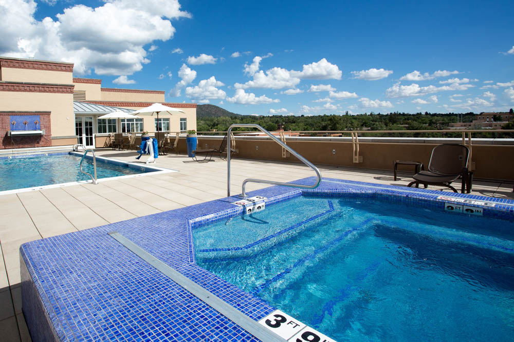 Drury Plaza Hotel in Santa Fe - Swimming Pool