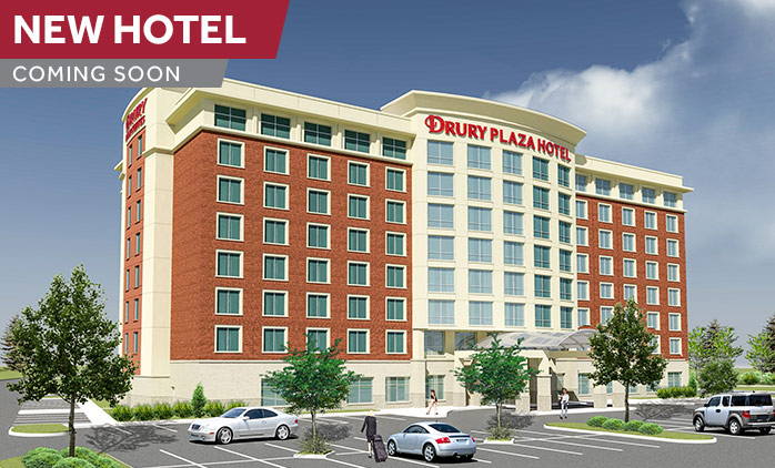 Coming Soon! Drury Plaza Hotel Columbia East