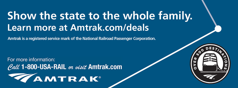 Kansas City Vacation Savings Coupon - Show the state to the whole family. Learn more about Amtrak.com/deals.