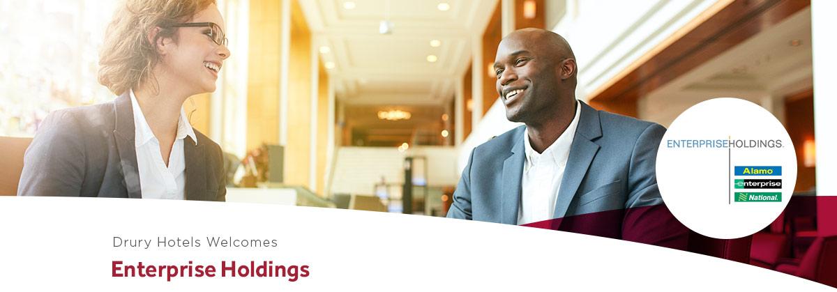 Drury Hotels welcomes Enterprise Holdings