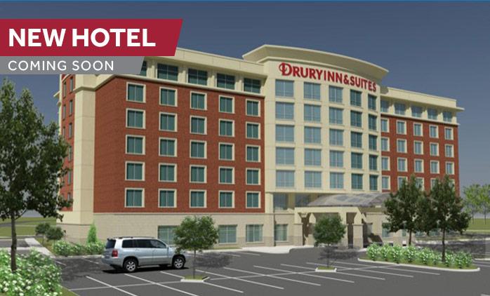 Coming Soon! Drury Inn & Suites Iowa City Coralville