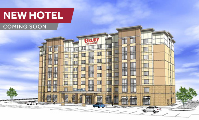 Coming Soon! Drury Inn & Suites Cincinnati Northeast Mason