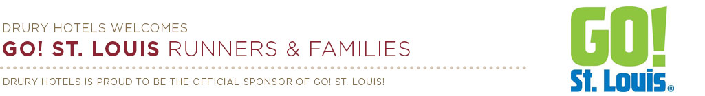 Drury Hotels Welcomes GO! St. Louis Runners & Families
