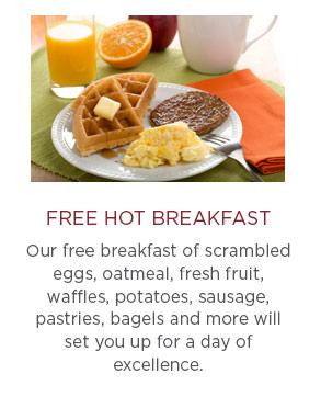 Free Hot Breakfast