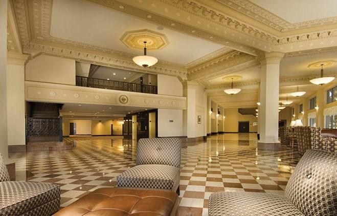Drury Plaza Hotel Broadview Wichita Lobby