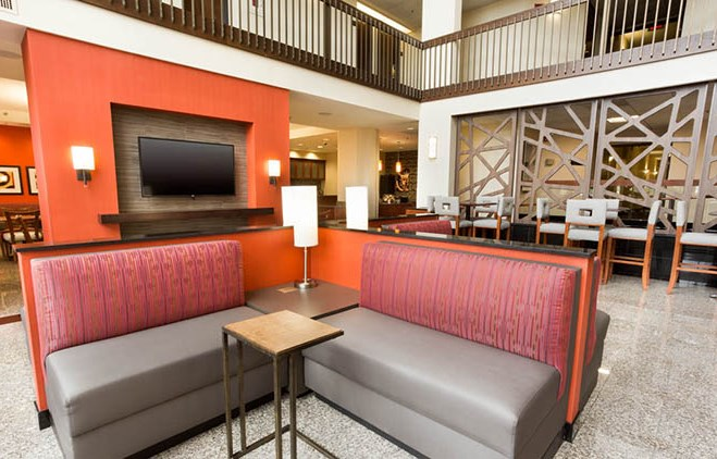 Drury Inn & Suites St. Louis Airport Lobby
