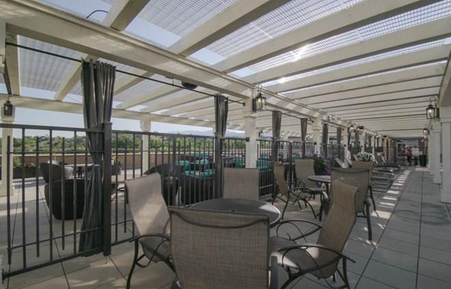 Drury Plaza Hotel in Santa Fe - Rooftop