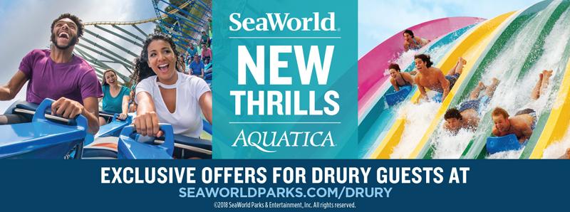 San Antonio Vacation Savings Coupon - Exclusive offers for Drury guests at SeaWorld San Antonio