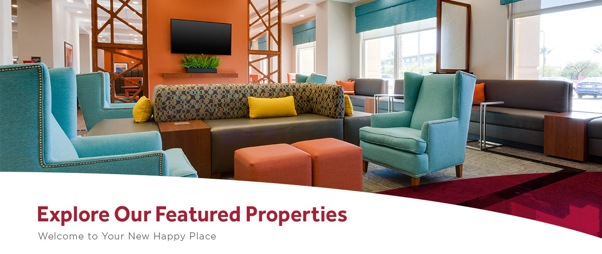 Explore our featured Drury Hotel properties