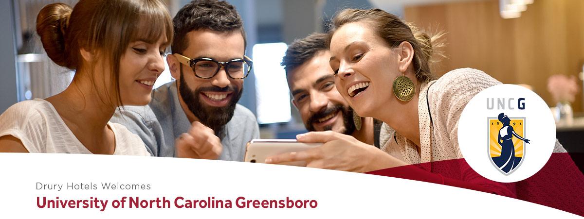 Drury Hotels welcomes University of North Carolina Greensboro
