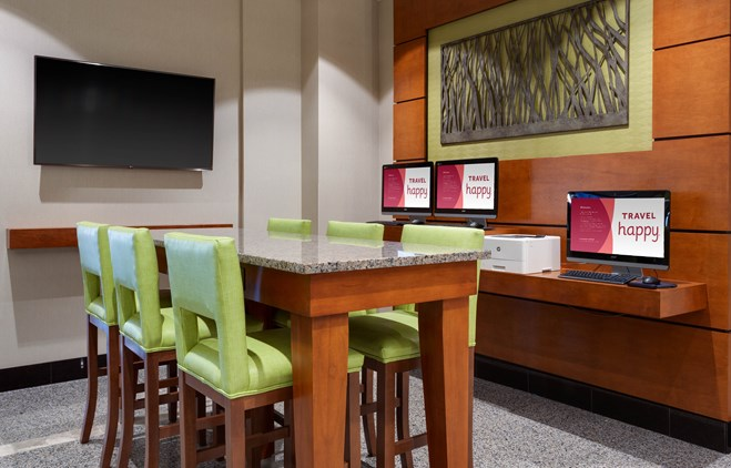 Drury Plaza Hotel Columbia - 24 Hour Business Center