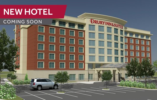 Drury Inn & Suites Iowa City Coralville - Coming Soon!