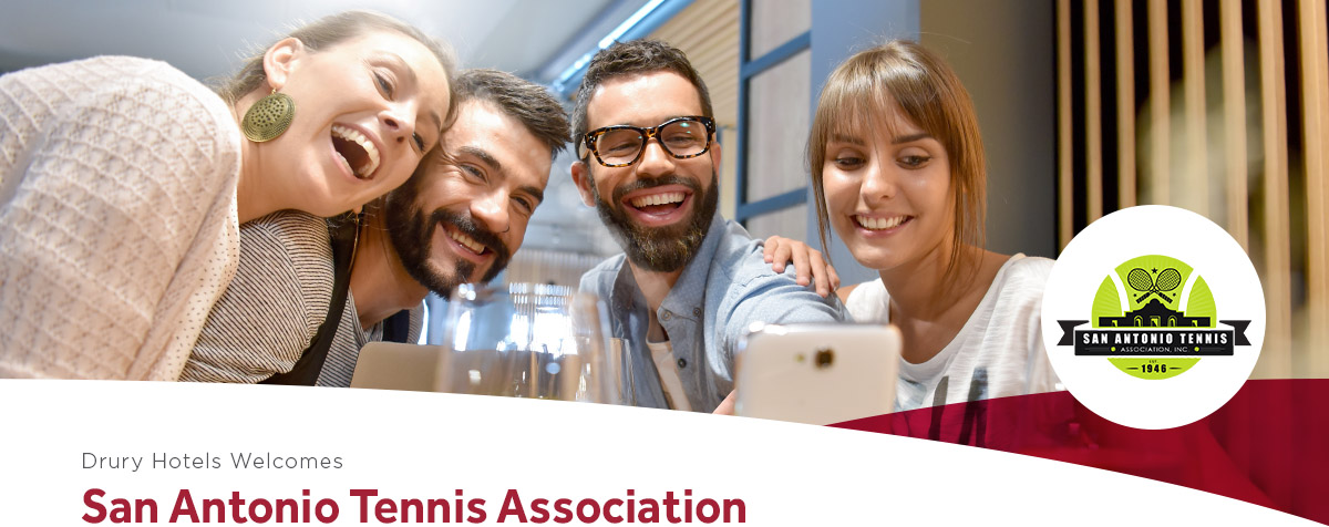 Drury Hotels Welcomes San Antonio Tennis Association