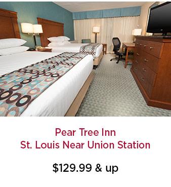 Pear Tree Inn St. Louis Near Union Station